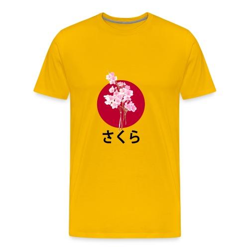 Sakura - Flower - Japan - T-shirt Premium Homme