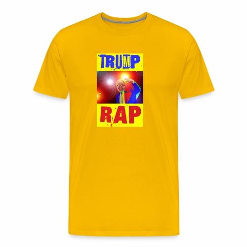 Rap, Trump! - Maglietta Premium da uomo