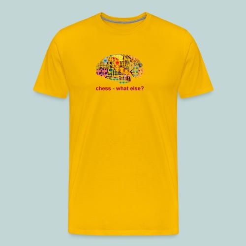 chess_what_else - Männer Premium T-Shirt