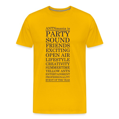 ANTNmania is - Männer Premium T-Shirt