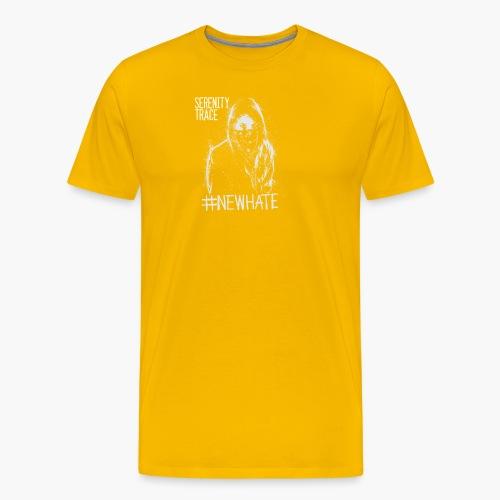 #NewHate Female - Premium T-skjorte for menn