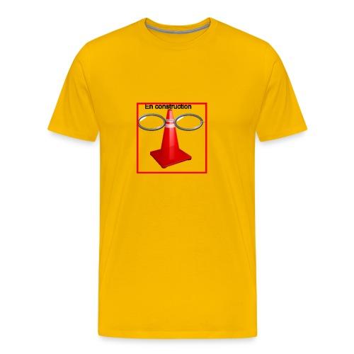 construction - T-shirt Premium Homme