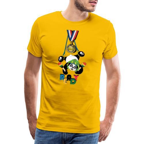 panda Jeux d'été - T-shirt Premium Homme