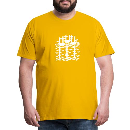 3shipsLogo SallyRoydhouse - Men's Premium T-Shirt