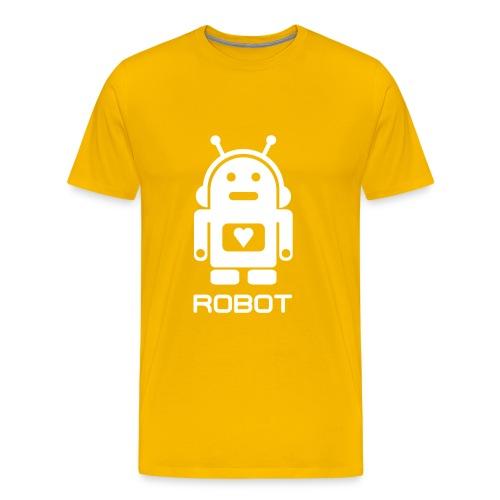 ROBOT - Herre premium T-shirt
