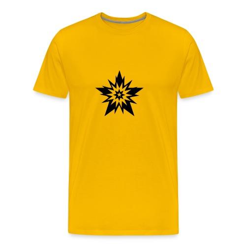 black star étoile stars - T-shirt Premium Homme