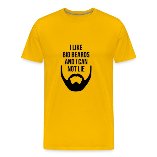 I Like Big Beards - Men's Premium T-Shirt