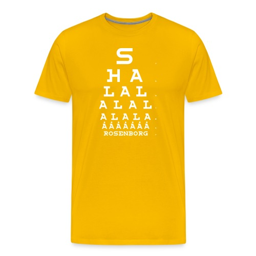 shalla - Premium T-skjorte for menn