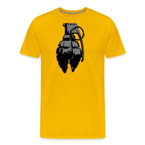 touch the moon grenade - Men's Premium T-Shirt