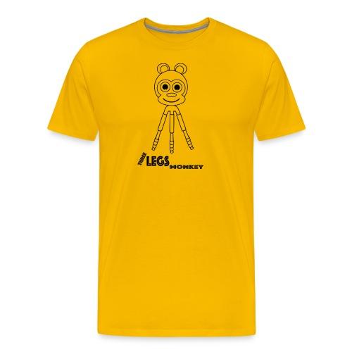 Three Legs Monkey (TLM) - Miesten premium t-paita