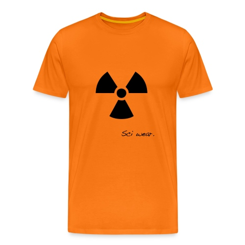 Radioactive Mug - Men's Premium T-Shirt