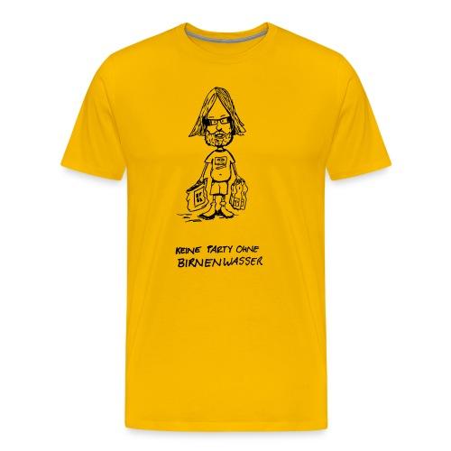 Birnenwasser - Männer Premium T-Shirt