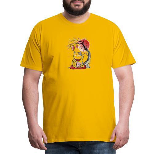 Chat bonheur - T-shirt Premium Homme