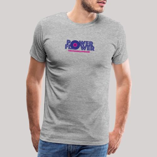 Logo PowerFlower colori - Maglietta Premium da uomo