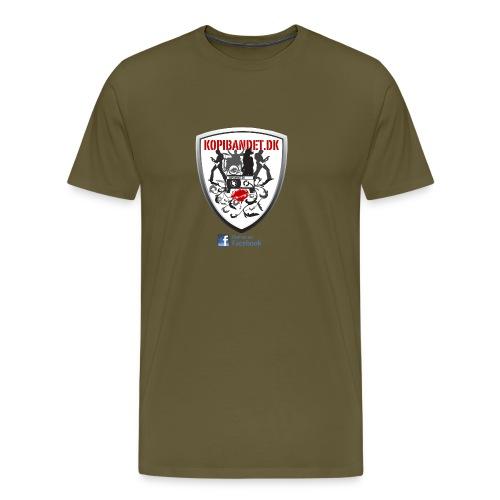 KopiBandet.DK find us on facebook - Herre premium T-shirt