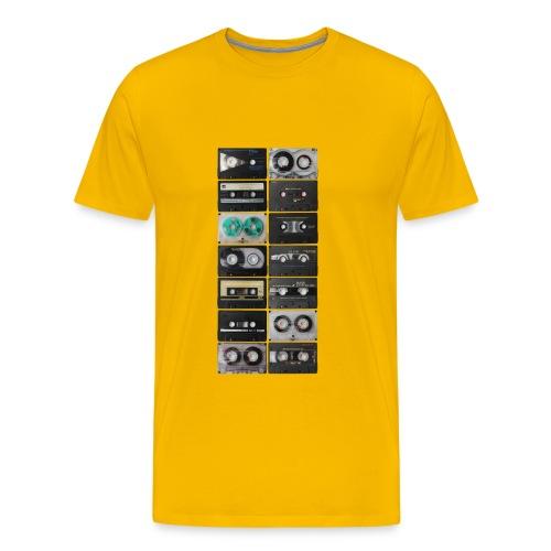 Vintage Cassette - Men's Premium T-Shirt