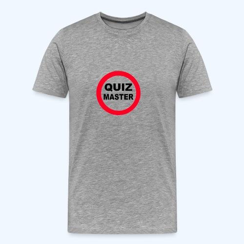 Quiz Master Stop Sign - Men's Premium T-Shirt
