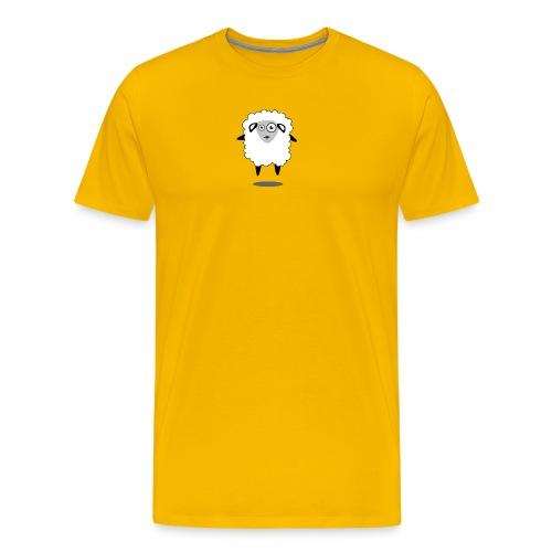Bleet Sheep (floating) - Men's Premium T-Shirt
