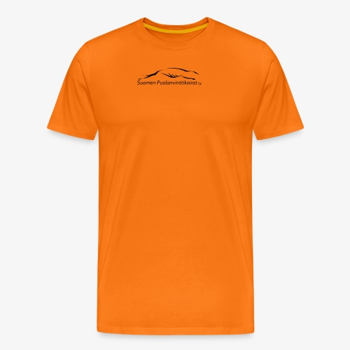 SUP logo musta - Miesten premium t-paita