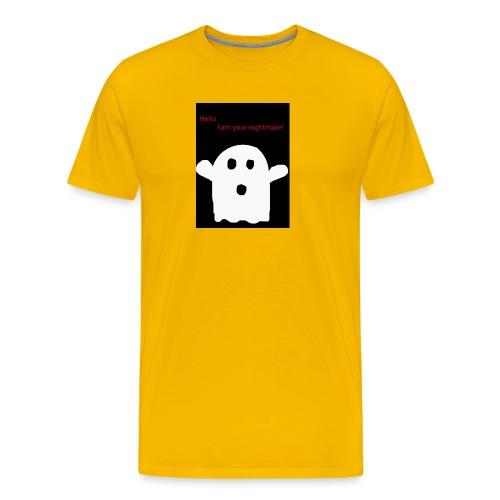 Cute Ghost - Miesten premium t-paita