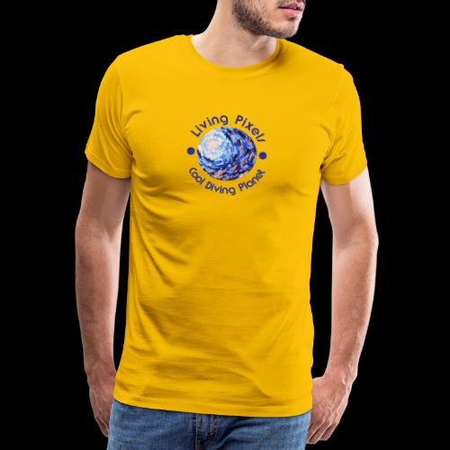 Living Pixels, Cool Diving Planet, Tauchen - Männer Premium T-Shirt