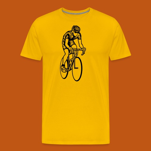 Rennrad / Racing Bicycle 01_schwarz - Männer Premium T-Shirt