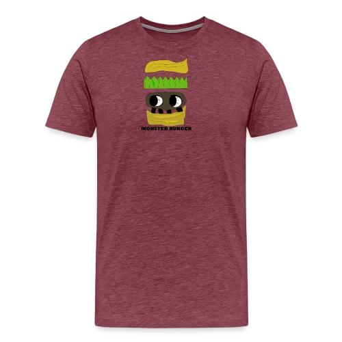 MONSTER BURGER - Männer Premium T-Shirt