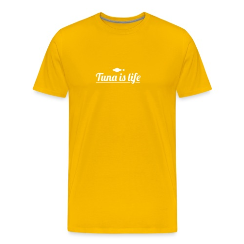 Tuna is Life Hoodie - Black - Herre premium T-shirt