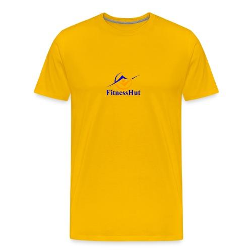 FitnessHutUK Logo Kit - Men's Premium T-Shirt