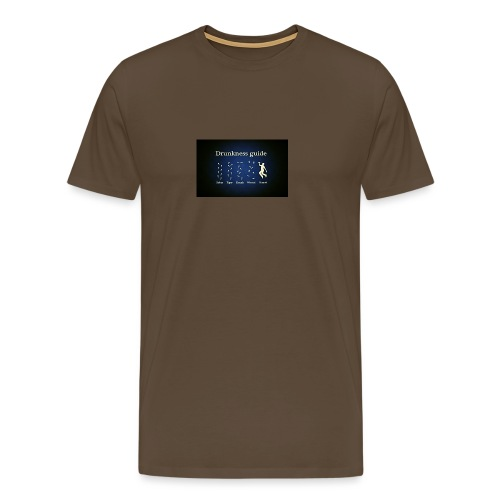 DRUNK - Mannen Premium T-shirt
