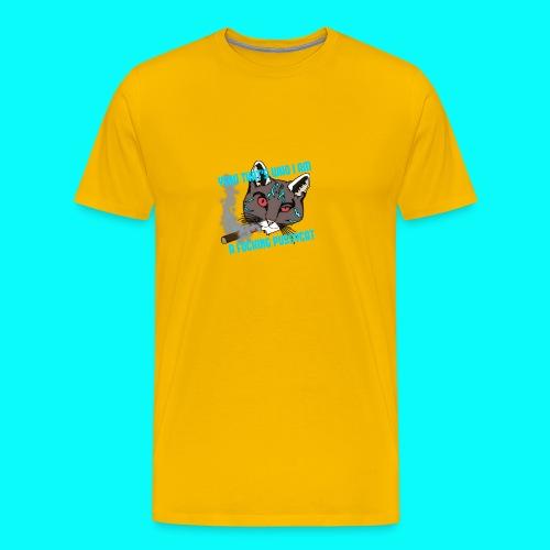FUCKING PUSSYCAT VÄSKA - Premium-T-shirt herr