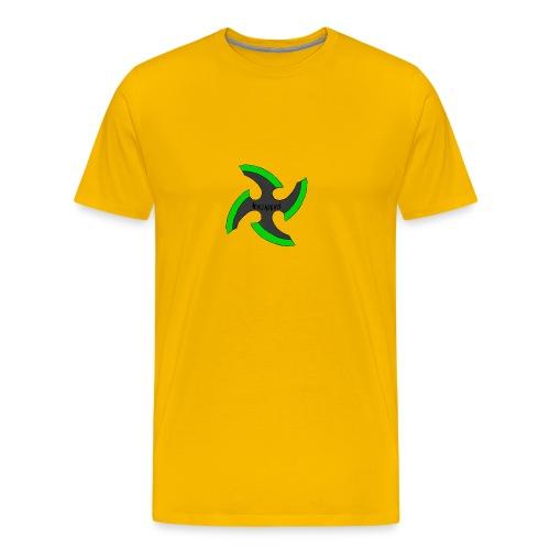 black-ronin-throwing-star-jpg_1 - Men's Premium T-Shirt