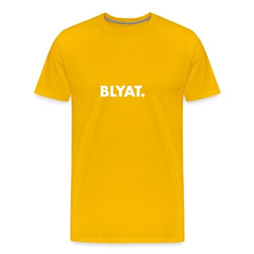 BLYAT. WHITE REPLICA - Mannen Premium T-shirt