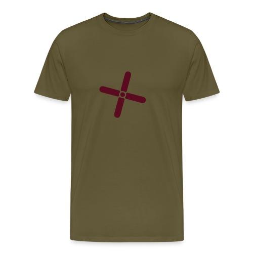 Break Even Plus - Herre premium T-shirt