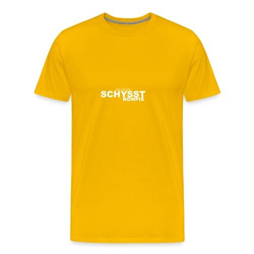 BASIC_VIT - Premium-T-shirt herr
