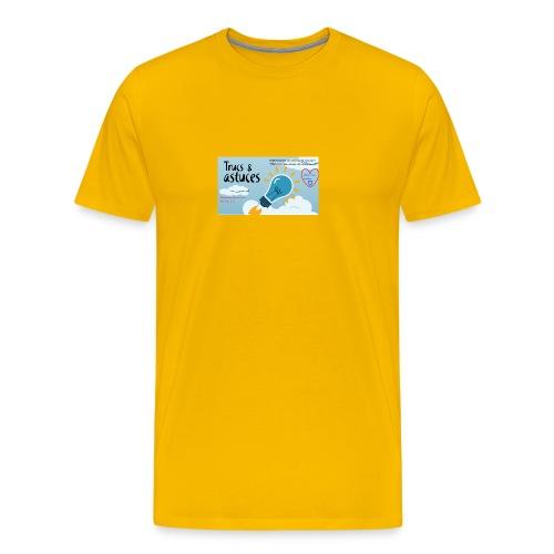 astuces mansour - T-shirt Premium Homme