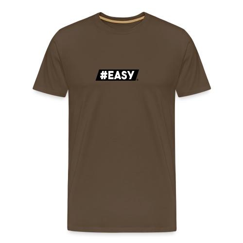 #EASY Classic Logo T-Shirt - Maglietta Premium da uomo