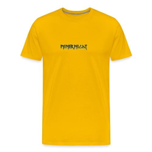 MineKnight mugg - Premium-T-shirt herr