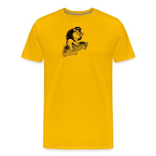 Ape DJ - Premium T-skjorte for menn
