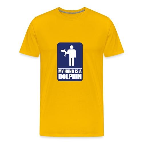 Dolphin Hand - Men's Premium T-Shirt