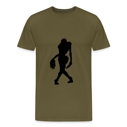 zombie girl big - T-shirt Premium Homme