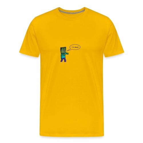 T - Short - Premium T-skjorte for menn