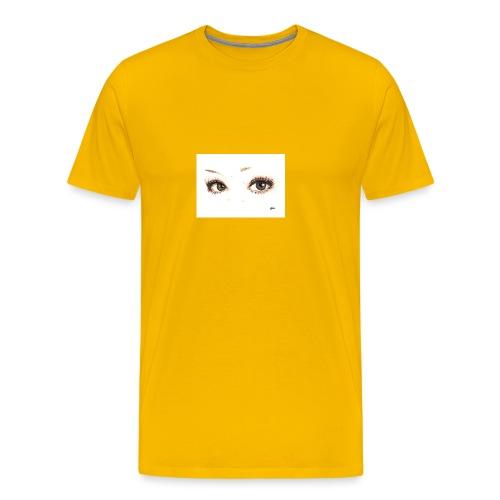 occhi di gatto - Maglietta Premium da uomo