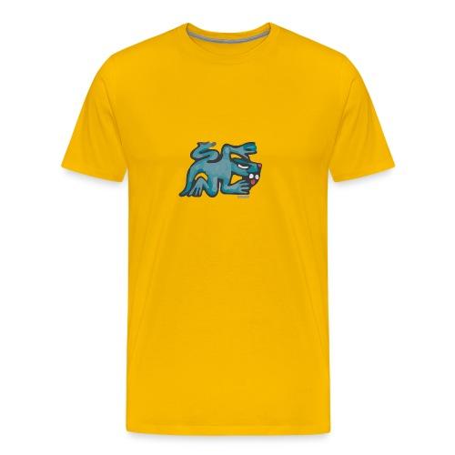 Aztec Lizard/Net - Men's Premium T-Shirt