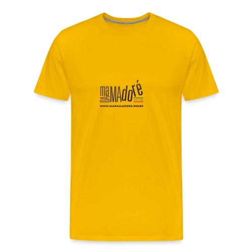 Sacca - Logo Standard + Sito - Maglietta Premium da uomo