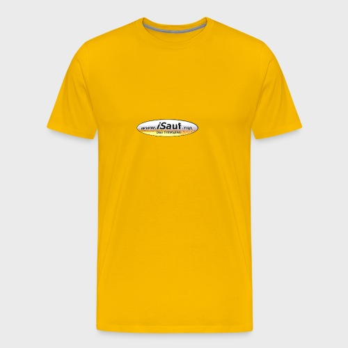 iSauf Logo - Männer Premium T-Shirt