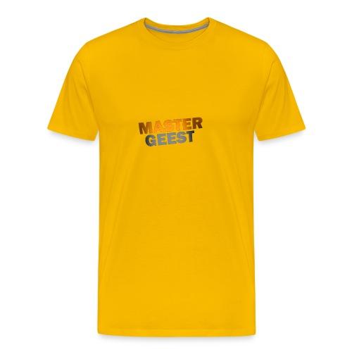 Mastergeest T-Shirt met lange mouwen - Mannen Premium T-shirt