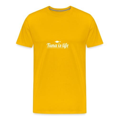 Tuna is Life Hoodie - Black - Herre premium T-shirt