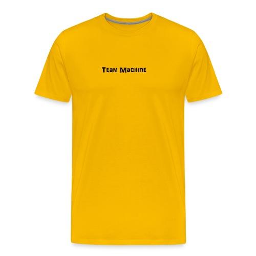 team machine mug - Men's Premium T-Shirt