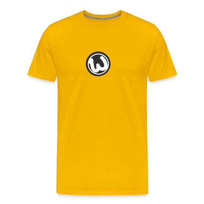 Wooshy Logo   Men's Premium T-Shirt